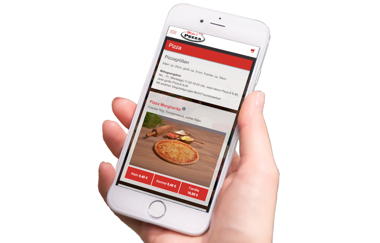 Mike's Pizza App